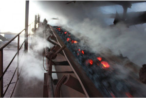 Heat resistand conveyor belting